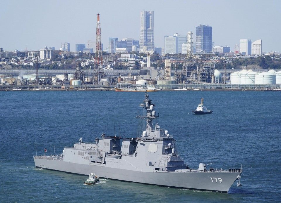 Japan Eyes 2 Aegis Ships After Land Based Defense Plan Scrapped Japan Aegis Destroyer Interceptor