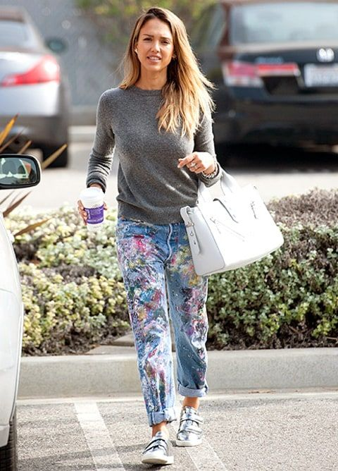 Jessica Alba\'s Stylists on Her Style Savvy: Tips to Dress Like Her ...