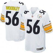 NFL Youth Game Nike Pittsburgh Steelers #56 LaMarr Woodley White ...