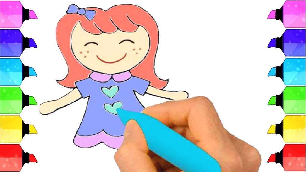 Learn How To Draw With Barbie Dolls How To Draw Barbie Draw