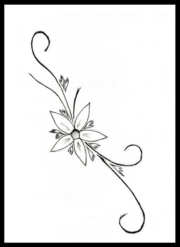 Tattoo Design Of A Tribal Style Butterfly With Stars Not My Own