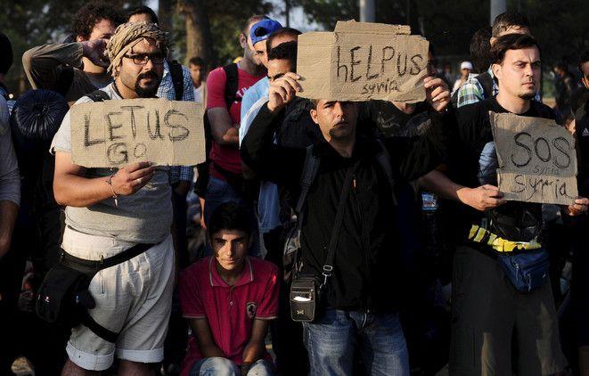 La crisis de refugiados: por estas fotos Europa también debe sentirse avergonzada