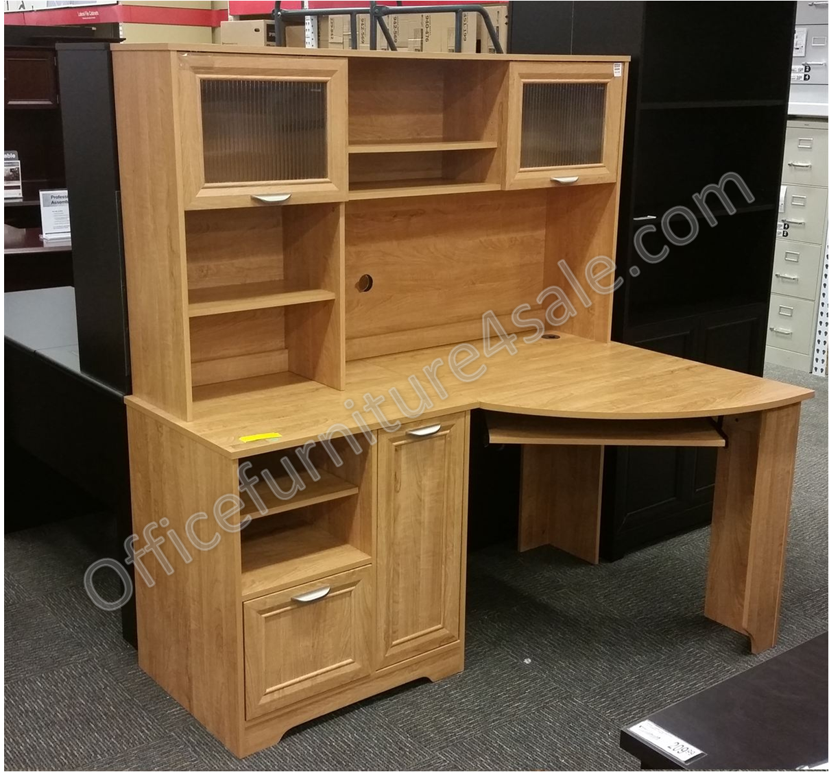corner furniture desk magellan shaped fice realspace beautiful dimensions of collection inspirational l cozy