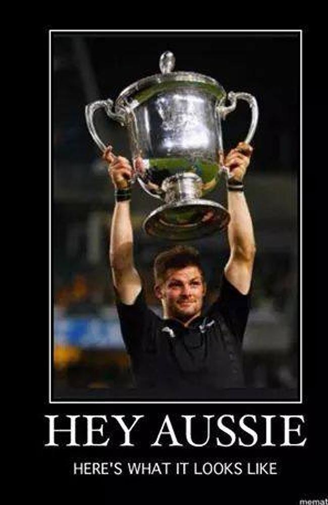 New Zealand Press Social Media Sink Boot Into Wallabies After Bledisloe Cup Belting Nz All Blacks All Blacks Rugby Richie Mccaw