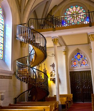 Best World S Most Mysterious Buildings Loretto Chapel Spiral 400 x 300