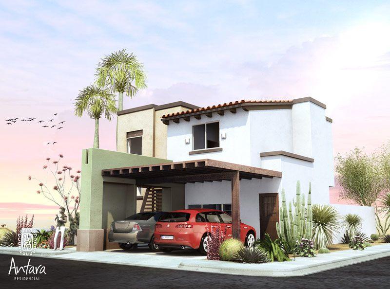 Casas mexicanas casa mexicana contempor nea fachadas for Fachadas de casas mexicanas rusticas