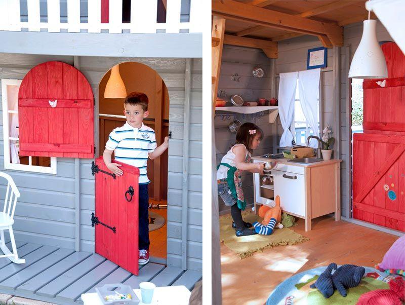 Ampliar 22 exteriores para ni os pinterest venta - Caseta madera ninos ...