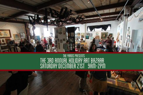 Come see us at The Yards on December 21st from 9-2. There is an incredible line up of extremely talented makers, bakers and DIYers to purchase from to finish your holiday shopping! #shopsmall #shoplocal #rochester