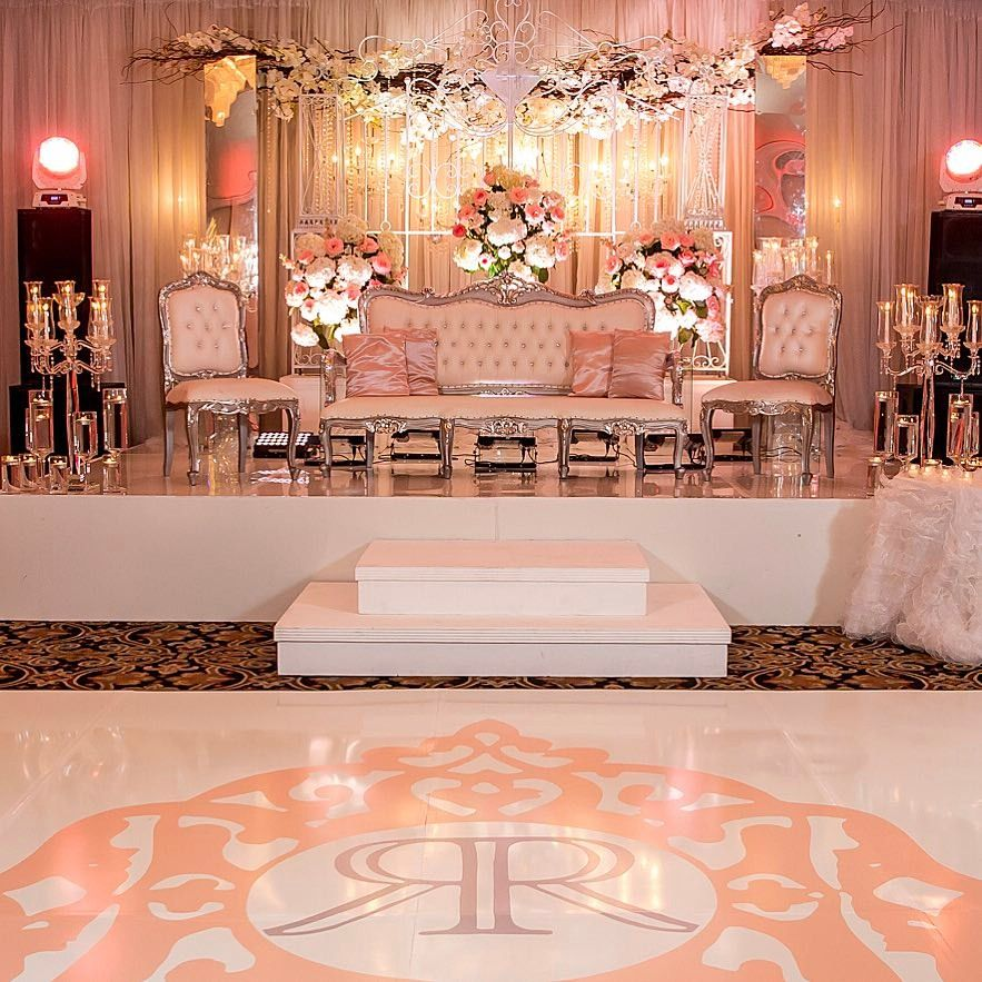 Love the way this elegant style reception turned out!