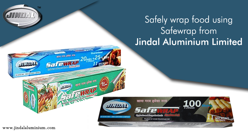 Safewrap (Foils) is a customized product from Jindal
