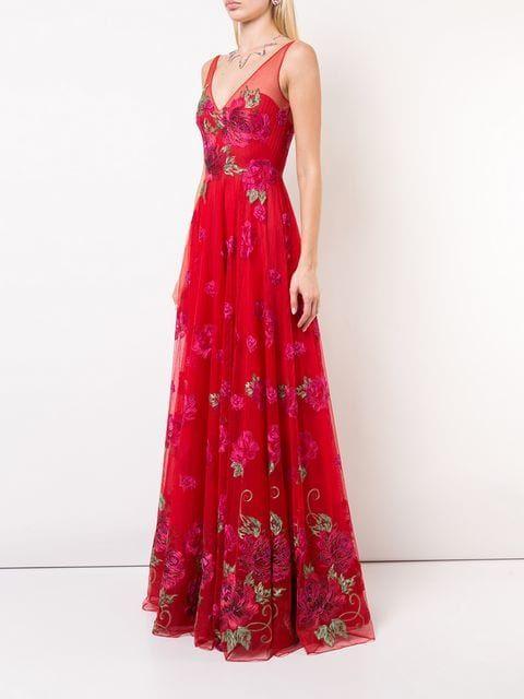 17+ Long flared dress ideas