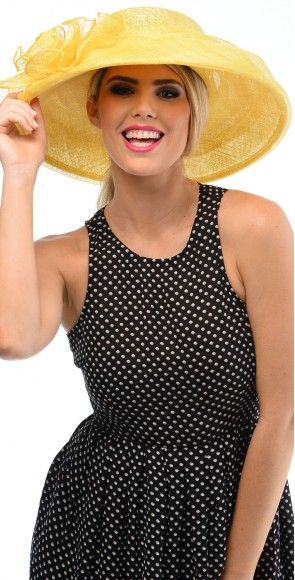 S1534Y #FashionHats - Yellow - we are feeling happy!!