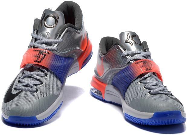 Nike KD 7 All Star Silver Orange Blue Grey1