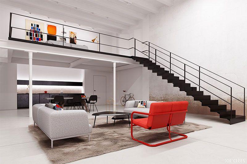 4 magnifiques lofts en duplex avec dimmenses fenêtres à découvrir