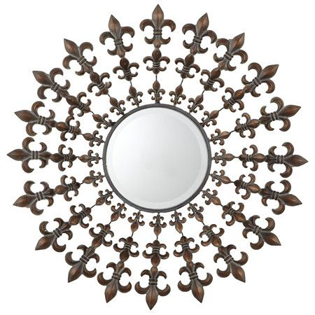 I Pinned This Fleur De Lis Wall Mirror From The Ay Company Event At Josain