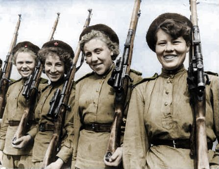 Female snipers,Soviet (With images) | Women in combat, Sniper