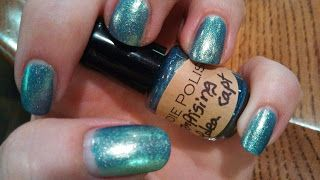 Indie Polish Enterprising Idea Captain  MINI, swatched 1 time, $2