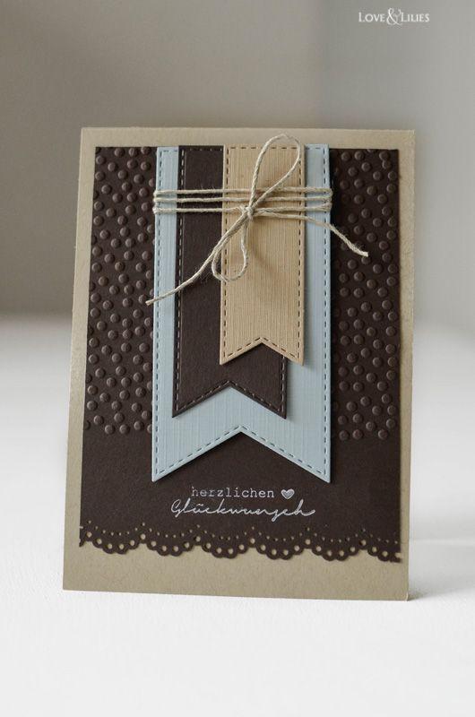 Geburtstagskarten Selber Machen Fur Manner.Loveandlilies De Handmade Diy Eine Geburtstagskarte Fur