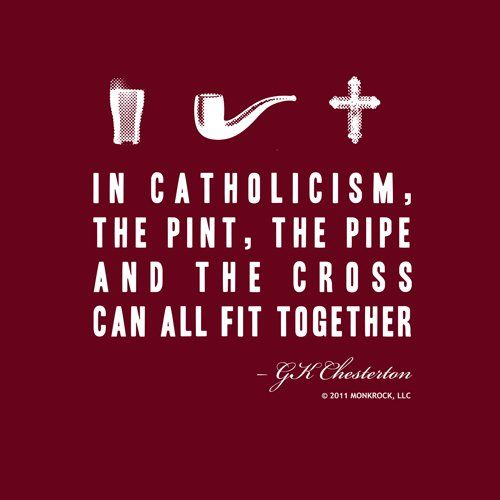 Indeed They Can And They Must For It Is Equally The Heretic And The Heathen Who Falsely Consider All Drinking Is Catholic Quotes Catholic Memes Saint Quotes
