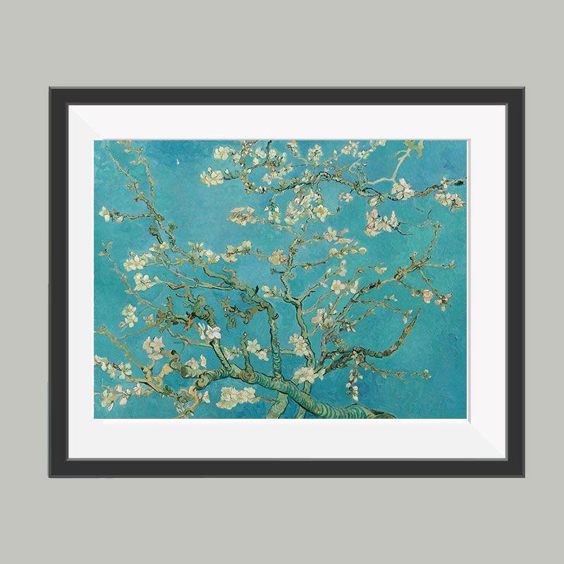 Amandelbloesem van Gogh poster, leuke poster om bijvoorbeeld op te ...