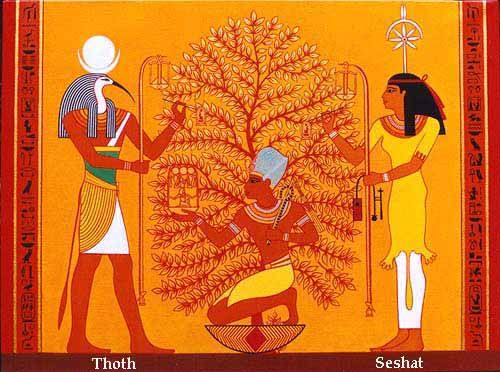 The Ished Tree | Egyptian gods, Egyptian art, Ancient egyptian