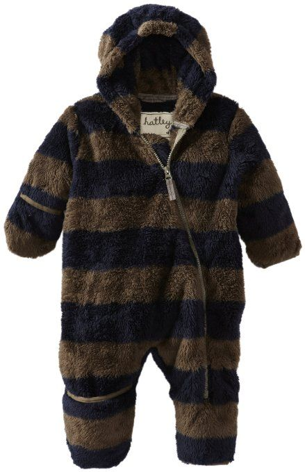 Amazon Com Hatley Baby Boys Newborn Fuzzy Fleece Bundler With