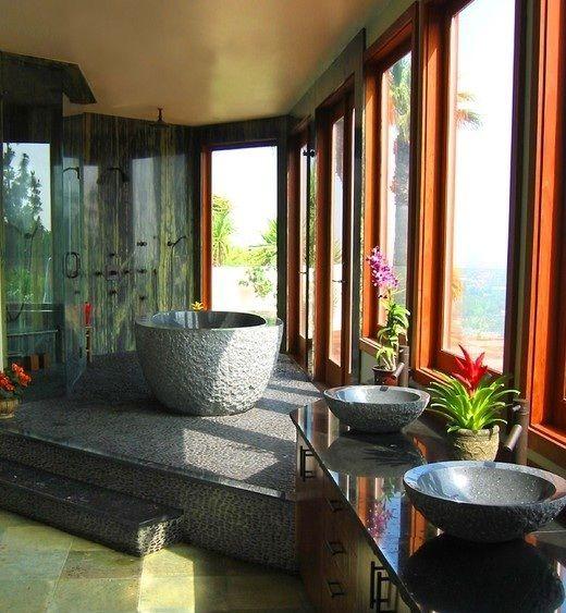 Gestalten Sie sich Ihre eigene kleine Wohlfühloase mit unseren Granit Produkten!  http://www.granit-fliesen.info/granit-waschtische