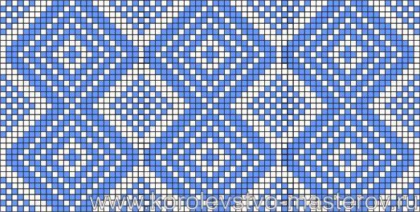 Схема вышивки крестом. Узоры, Орнаменты