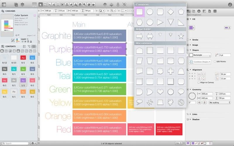 OmniGraffle Pro 7.4.3 for Mac 破解版 多功能绘图应用