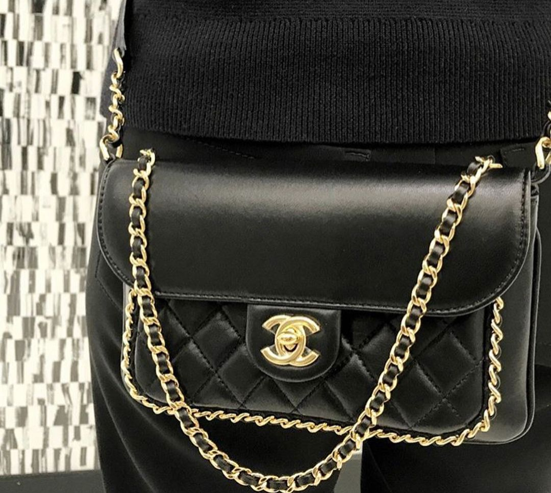 Chanel CC Unchained Bag from the Pre-Fall Winter 2017 Collection is as  classic as the Classic Flap Bag 55e956ecab859