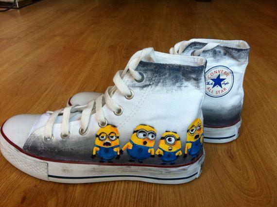 c1d90a1247b9 Painted Custom Shoes - Hand Painted Custom Converse Custom Vans ...