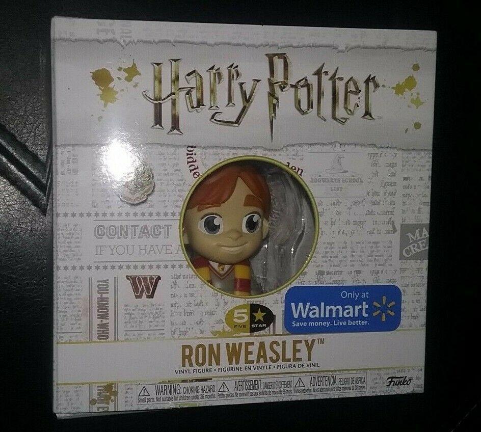 Funko Pop 5 Star Harry Potter Ron Weasley Walmart Exclusive Vinyl Figure Funko With Images Vinyl Figures Harry Potter Ron Weasley Ron Weasley