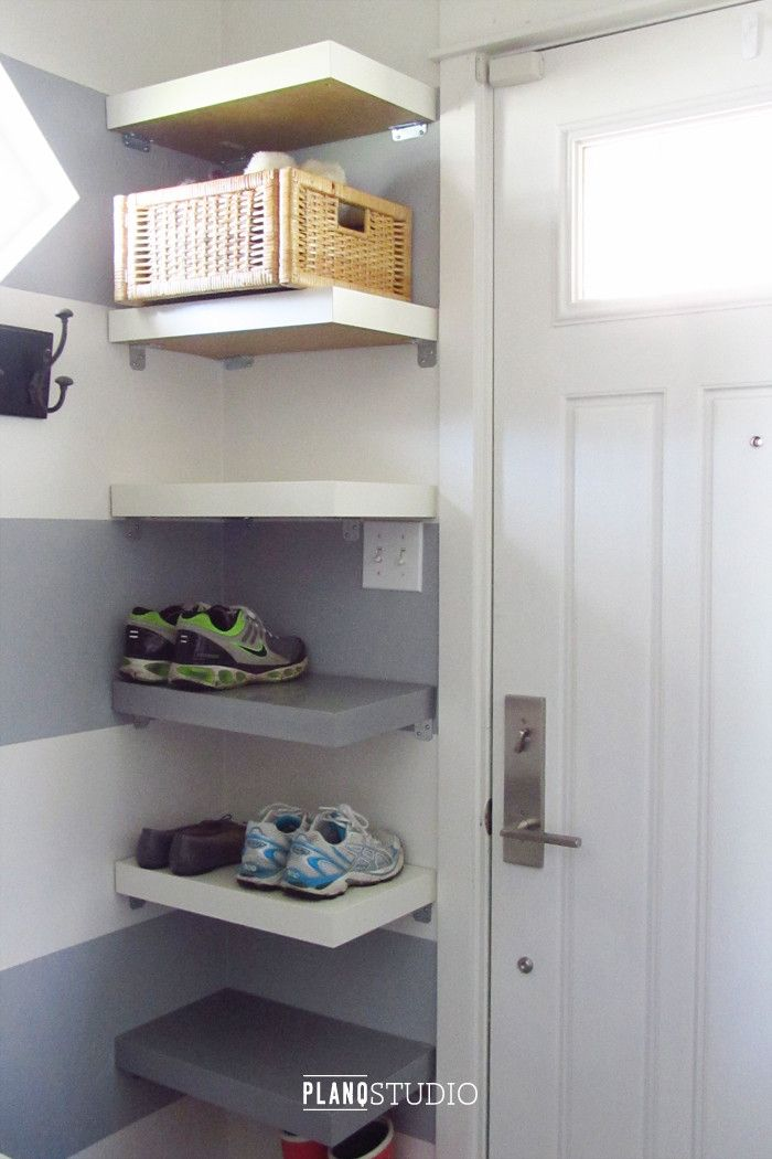 Ikea Hack Lack Table Shoe Shelves Planq Studio