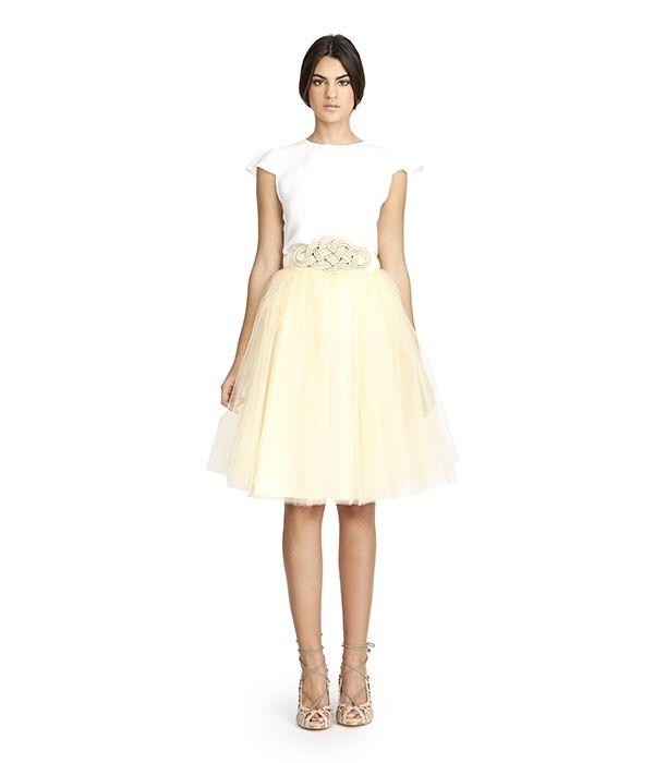 el más baratas zapatillas moda más deseable falta-tul-amarilla | Ropa | Faldas de tul, Vestidos largos ...