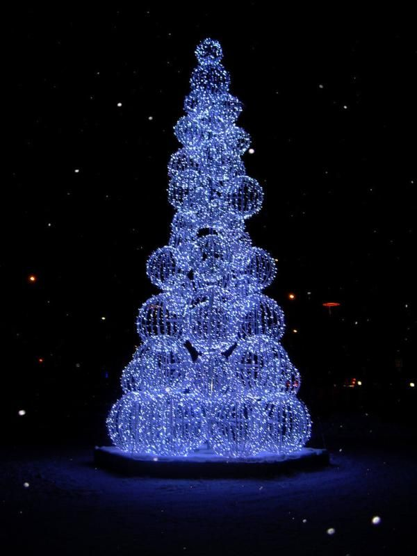 pretty christmas trees pictures | AnyTen: 10 Creative Christmas Trees 2011