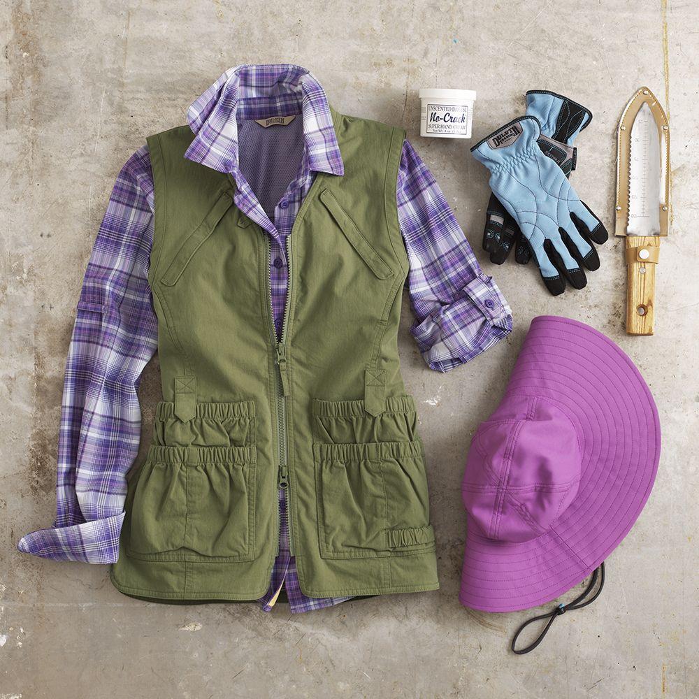 38a55daf2826d186fd15b40a03600125 - Women's Lightweight Utility Gardening Vest
