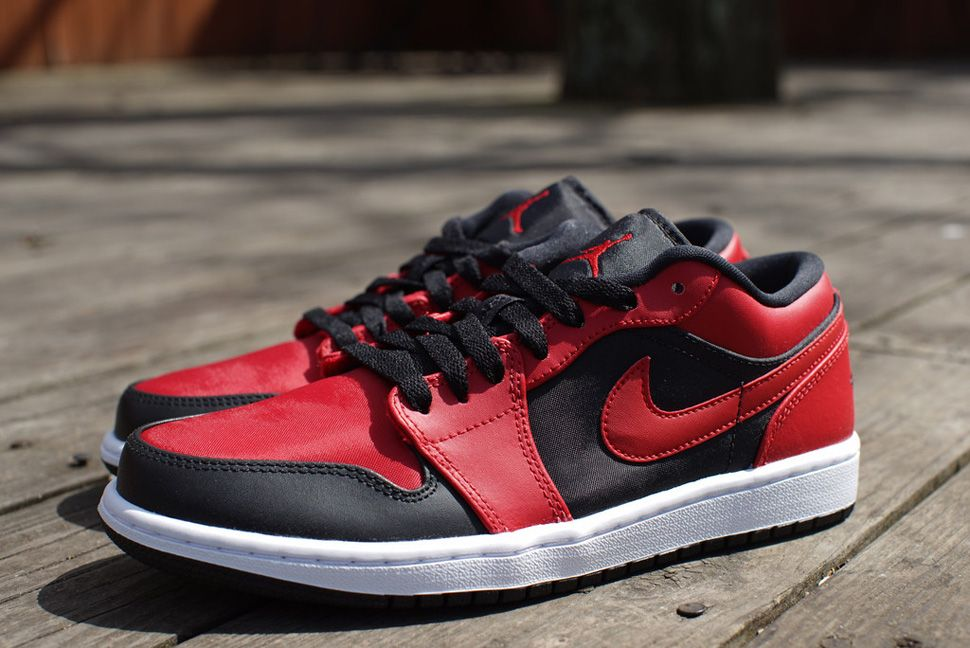 Black · Air Jordan 1 Retro Low 'Gym Red ...
