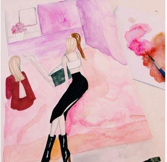 Vanessa Datorre. Watercolor