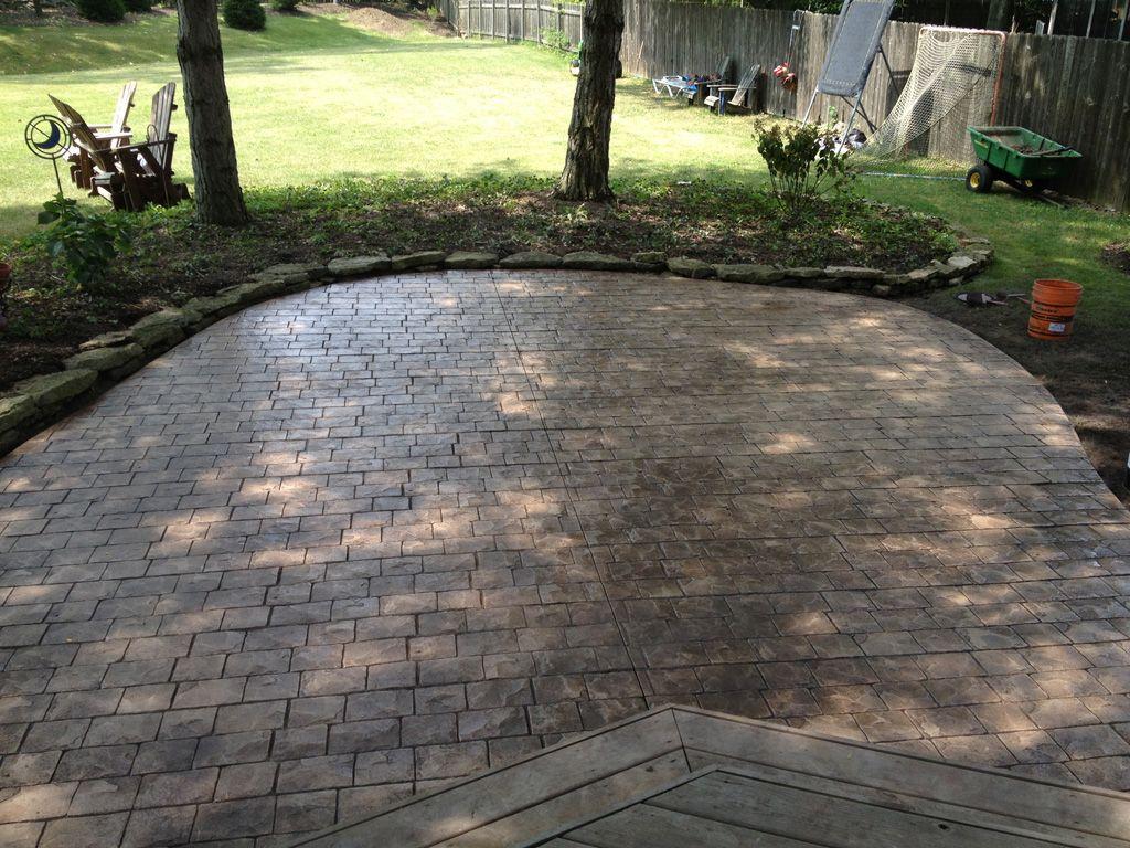 Captivating Image Result For Stamped Concrete Patterns Cobblestone