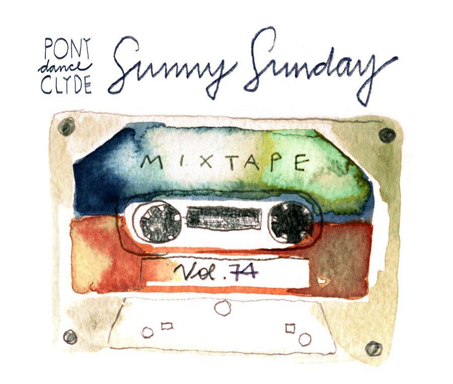 Sunny Sunday Mixtape Vol. 74: das Video-Mixtape zum Frühlingsstart – jetzt auf PonyDanceClyde