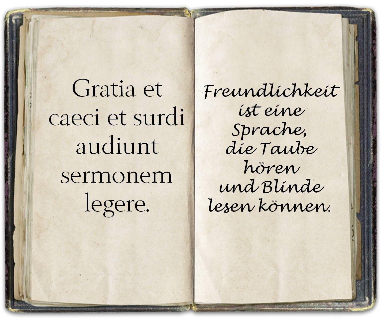Spruch Latein Latein