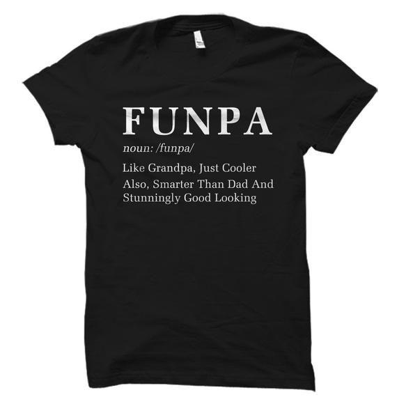 Funny Grandpa Shirt Gift