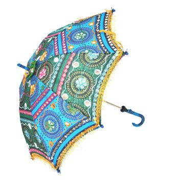 Eka Decorative Parasol by Found Object $40