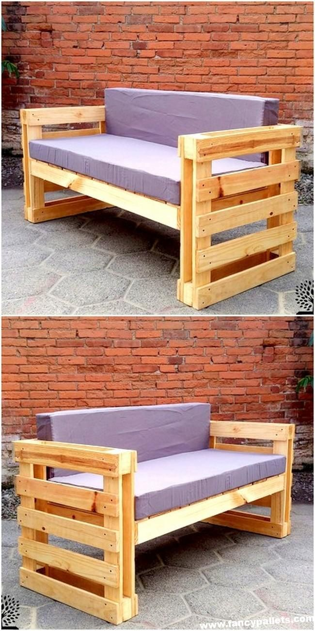 Arredo Giardino In Pallet 50 freshly formed pallets wood reshape furniture ideas