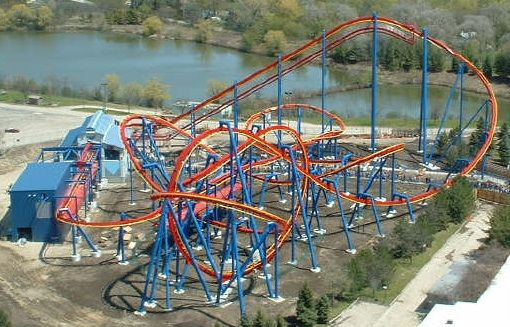Superman Ultimate Flight Photo From Six Flags Great America Theme Parks Rides Great America Amusement Park Rides