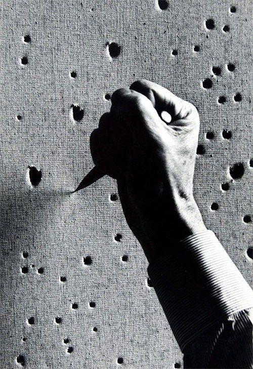 Ugo Mulas - Lucio Fontana, 1963. S)