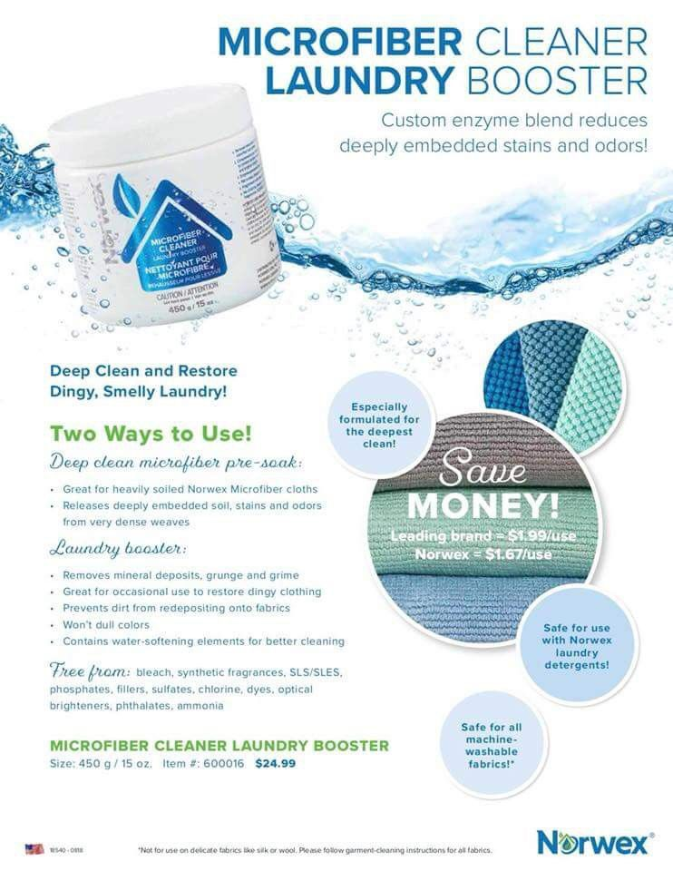 Deep Clean Or Give Your Laundry Soap A Boost Norwex Norwex