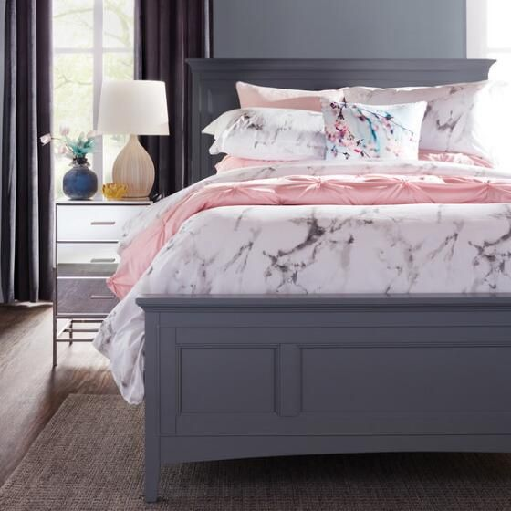 Give Your Bed A Touch Of Northern Italy With This Marble Inspired