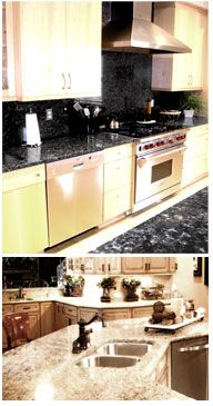 Italian Granite Paint For Countertops A Way To Fix Old Countertopake Them Look Amazing