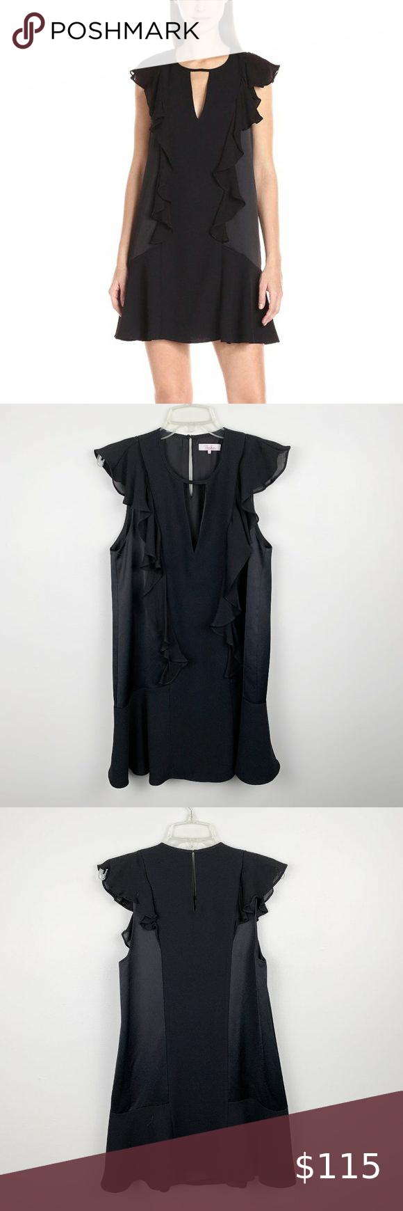Nwot Parket Toni Black Ruffle Dress Xs Perfect Little Black Dress With Ruffle Details Going Down The Black Ruffle Dress Perfect Little Black Dress Ruffle Dress [ 1740 x 580 Pixel ]